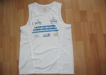 Koszulka techniczna do biegania bez rękawków