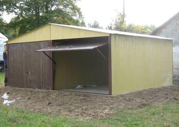 Garaż blaszany / garaz / garaże / hala / wiata / profil