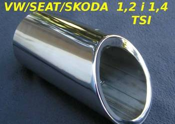 Końcówka ozdobna  tłumika   Dedykowana do  VW / SEAT / SKO