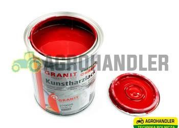 Farba Czerwona WILCKENS GRANIT 0.75L Deutz