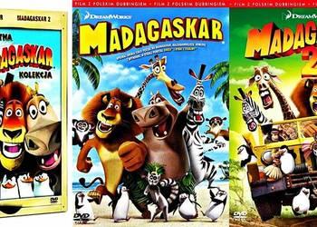 MADAGASKAR + MADAGASKAR 2 BOX 2 DVD
