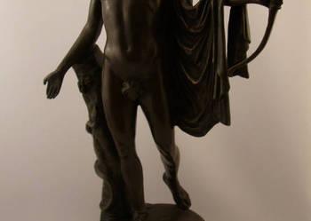 Figura Apolla- Fonderie bords de seine- Brąz