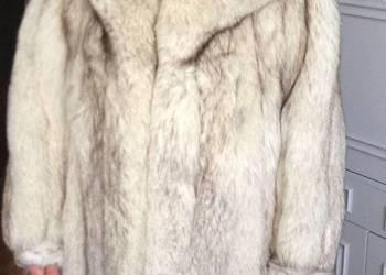 Futro z lisów srebrnych krótkie
