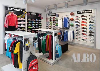 Panel sklepowy - zabudowa sklepu - meble sklepowe