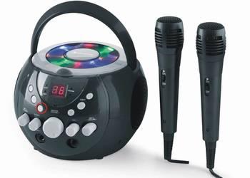 UWAGA!OKAZJA! Przenośny zestaw karaoke LED Auna SingSin WADA