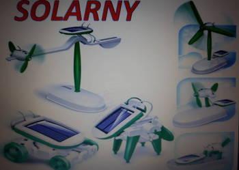 6w1 EDUKACYJNY ROBOT SOLARNY SOLAR prezent zabawka solarna !