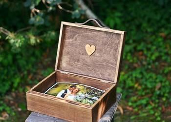 Skrzynka rustykalna na zdjęcia 15 x 21