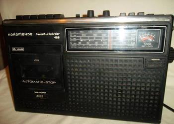 Radiomagnetofon-sprawny st. BDB