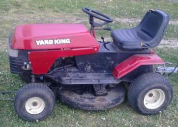 Traktorek-kosiarka yard king 11 KM - sprzedam!