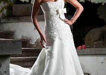 Bonnie Annais wyjątkowa koronkowa suknia ślubna