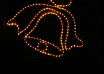 Dzwonek Dekoracja Latarniowa ozdoba świąteczna LED 2D