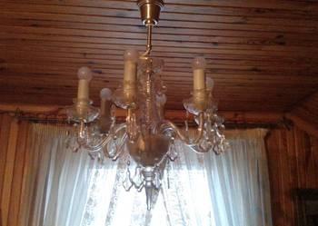Krysztalowe zyrandole i lampy francuskie