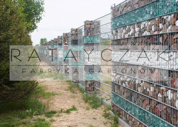 Ogrodzenie gabionowe gabiony gabion ogrodzenie panelowe