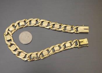 piękna złota bransoletka 585 14k na prezent