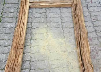 Lustro rustykalne retro loft