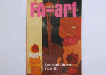 Fa-art kwartalnik literacki z 1998 roku numer 3