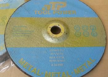 Profesjonalna Tarcza ścierna do metalu 6 mm, 230 x 6 x 22,2