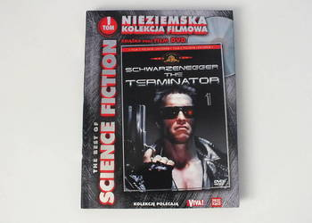 Terminator 1 film DVD + książka lektor PL -> NOWY