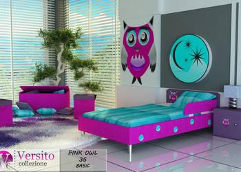 łóżko tapicerowane dla dziecka z materacem i barierką,