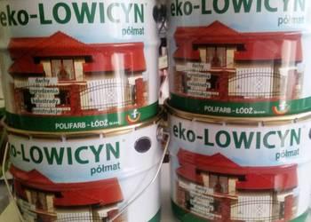 EKO-LOWICYN 10L farba na dach Kolory Obniżka!