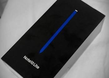 Sprzedam Samsung Galaxy Note 10 Lite na sprzedaż  Warszawa