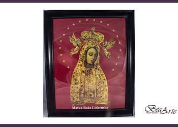 Obraz Matki Boskiej Licheńskiej oszklony