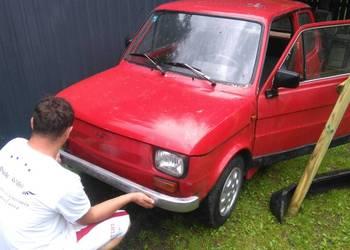 Fiat 126p Maluch Chromy, sprawny Zarejestrowany