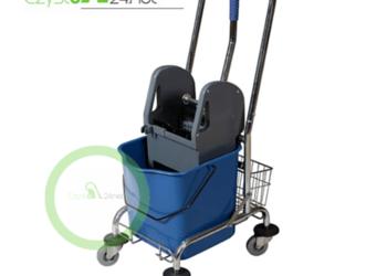 Wózek do sprzątania 1X 25L z koszyczkiem