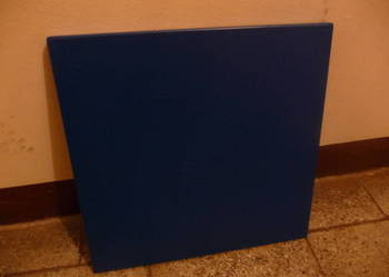 Płyta meblowa lakierowana niebieska 40x39x2 cm