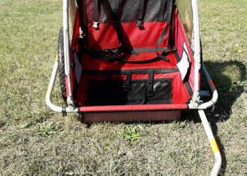 Przyczepka wózek do roweru