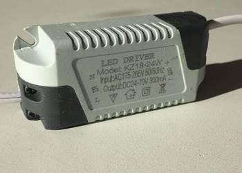 DRIVER LED sterownik 18-24W 300mA 24-70V NOWY