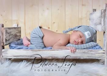 Łóżeczko - foto rekwizyt do dziecięcych sesji zdjęciowych