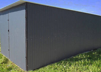 Garaże blaszane RAL 3x5 Kielce blaszaki montaż dowóz gratis