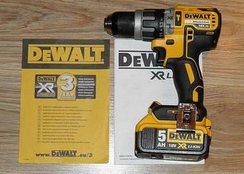 Dewalt DCD796 wiertarko-wkretarka 18V aku 5Ah bezszczotkowa