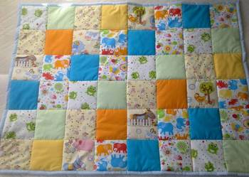 Narzuta, kołderka patchwork 90/120