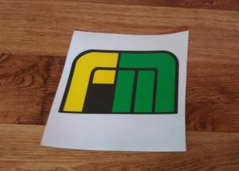Logo na przód Farm-Mot 250D znaczek Far-Mot Farm Mot Farmot
