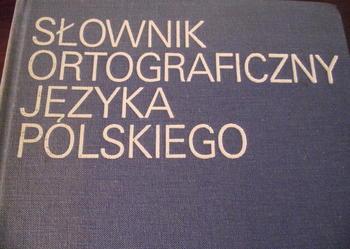 """""""SŁOWNIK ORTOGRAFICZNY JĘZYKA POLSKIEGO""""- PWN"""