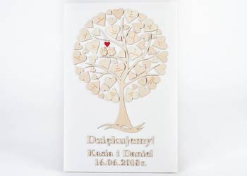 Drzewko na płótnie dla Rodziców