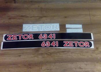 Naklejki Zetor 6341 Super, używany na sprzedaż  Wola Wiewiecka