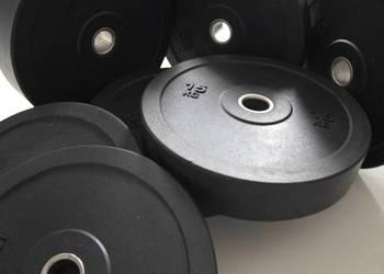 Zestaw obciązeń gumowych 100kg wysoka jakość