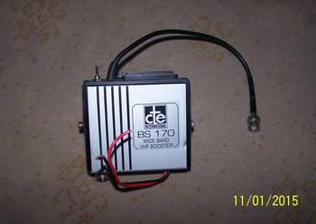 Wzmacniacz VHF BOSTER BS 170 do radia ct 145 MHz