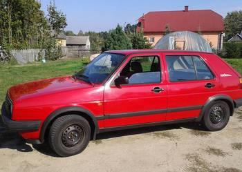volswagen golf II benzyna+gaz