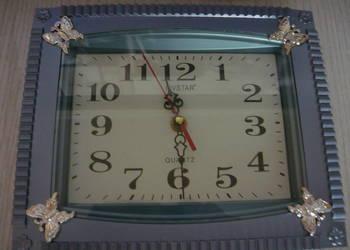 NOWY stylowy piękny zegar ścienny GRATIS