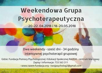 Weekendowa Grupa Psychoterapeutyczna