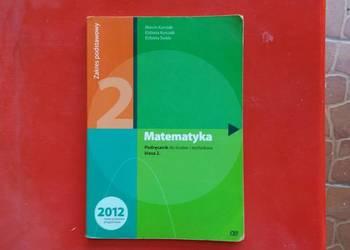 Matematyka podręcznik do liceów i techników klasa 2