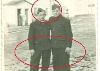 Żołnierze rekruci koszary kwatera lata 40-te ?