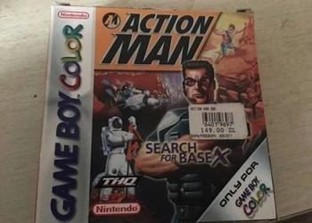 Nintendo game boy color Action Man Search for Base X