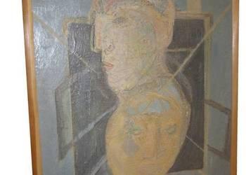 Olej GÓRUJE Leon Levkovitch ARTYSTA PARYSKI 1975r.