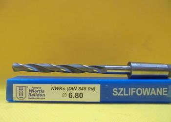 Wiertło NWKc Φ 6,8mm HSS DIN 345 RN !!! NOWE !!!