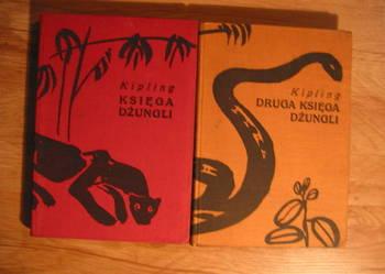 Księga dżungli , Druga ksiega dżungli-Rudyard Kipling.